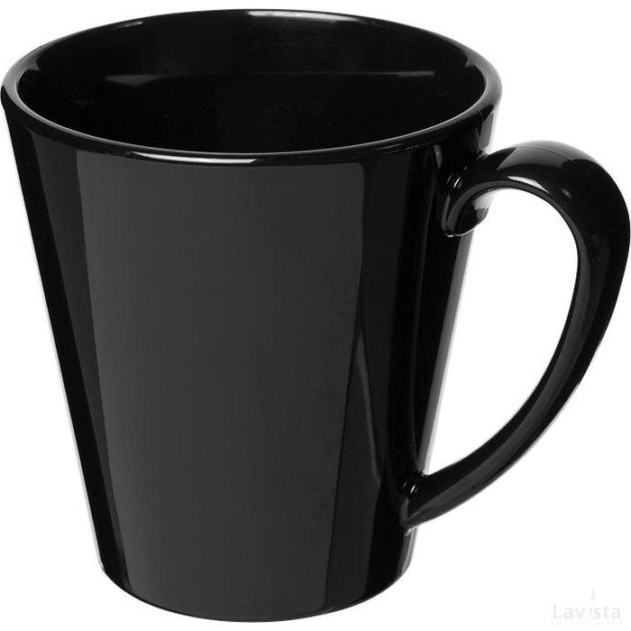 Supreme 350 ml kunststof mok Zwart