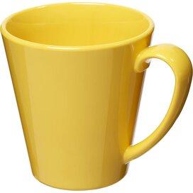 Supreme 350 ml kunststof mok geel