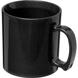 Standard 300 ml kunststof mok Midnight Black
