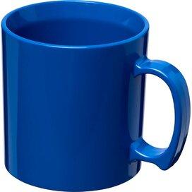 Standard 300 ml kunststof mok blauw