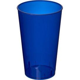 Arena 375 ml kunststof beker Transparant,donkerblauw Transparent dark blue