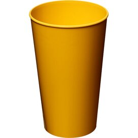 Arena 375 ml kunststof beker geel
