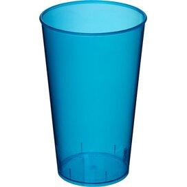 Arena 375 ml kunststof beker Transparant,aqua blauw Transparent aqua blue