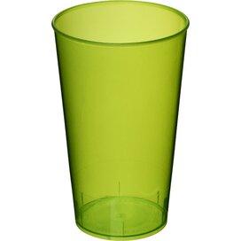 Arena 375 ml kunststof beker Transparant,limegroen Transparent lime green