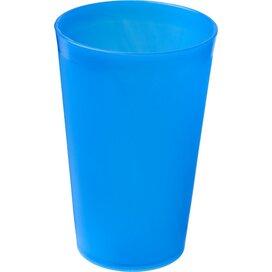 Drench 300 ml kunststof beker Frosted blue