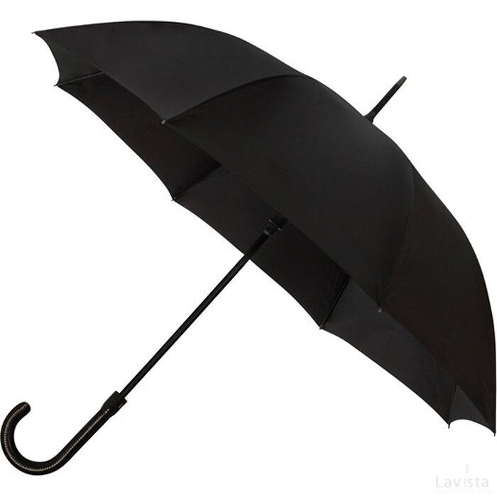 Falcone® luxe paraplu, automaat, windproof zwart