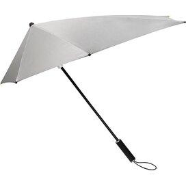 STORMaxi® aërodynamische stormparaplu zilver