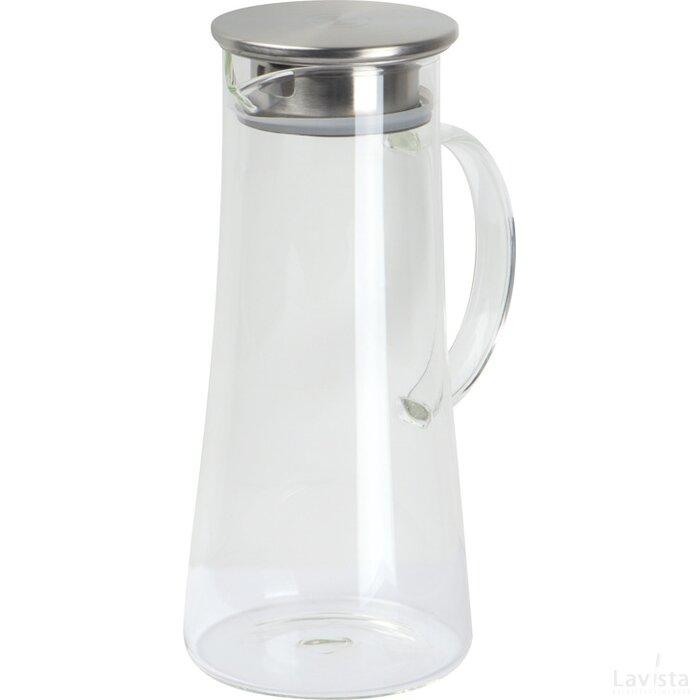 Karaf van glas transparant