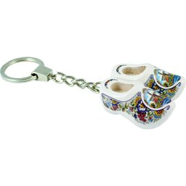 Keychain 2 shoes, poly mill 4