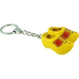 Keychain 2 shoes, yellow farmer