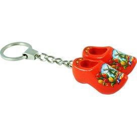 Keychain 2 shoes, orange tulip