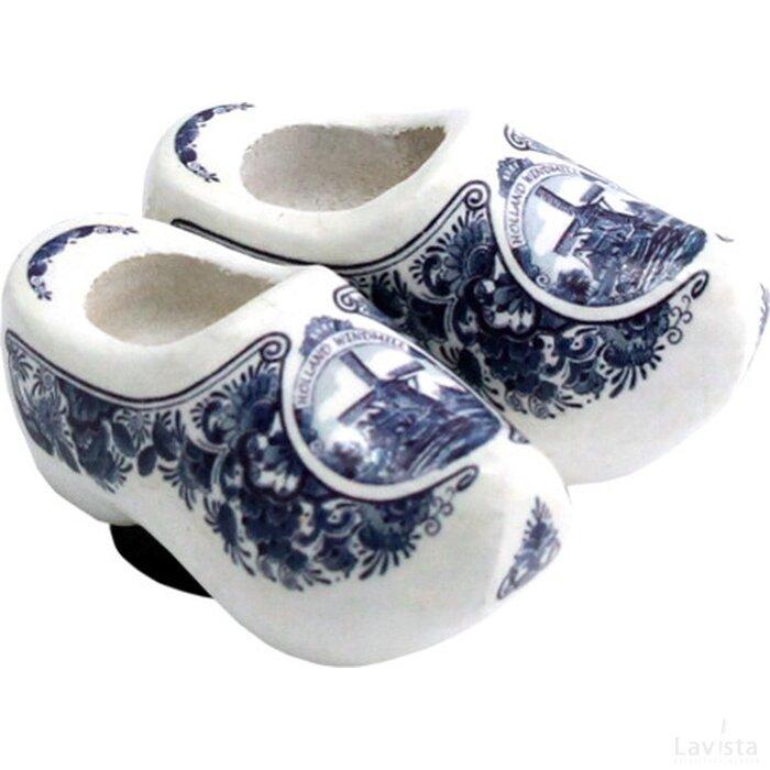 Magnet 2 shoes 4 cm, delft blue mill 4