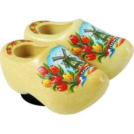 Magnet 2 shoes 4 cm, varnished tulip
