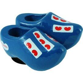Magnet 2 shoes 4 cm, blue Frisian flag