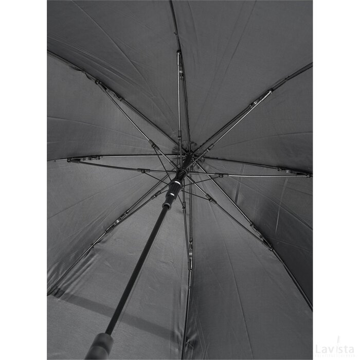 """Bella 23"""" automatische stormparaplu Zwart"""