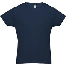 Luanda  T-Shirt Voor Mannen Blauw