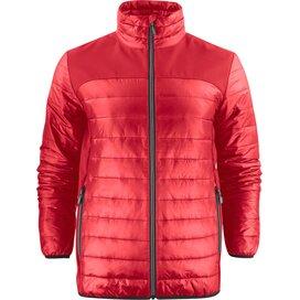 Heren printer expedition jacket rood