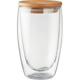 Dubbelwandig drinkglas 450ml Tirana large transparant