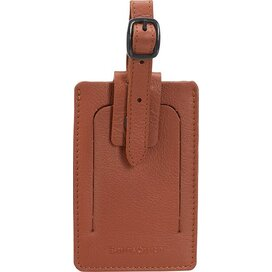 Samsonite Luggage Accessories ID Leather Luggage Tag