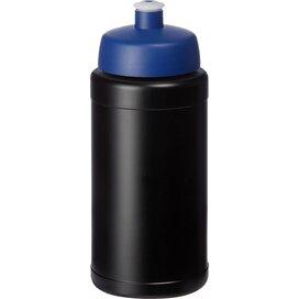 Baseline® Plus 500 ml drinkfles met sportdeksel Zwart,blauw