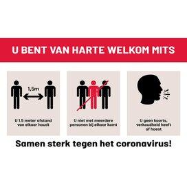 Samen sterk tegen het Coronavirus