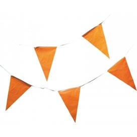 Vlaggenlijn Oranje, 10m Oranje