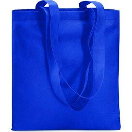 Non-woven boodschappentas Totecolor (Kobalt) blauw