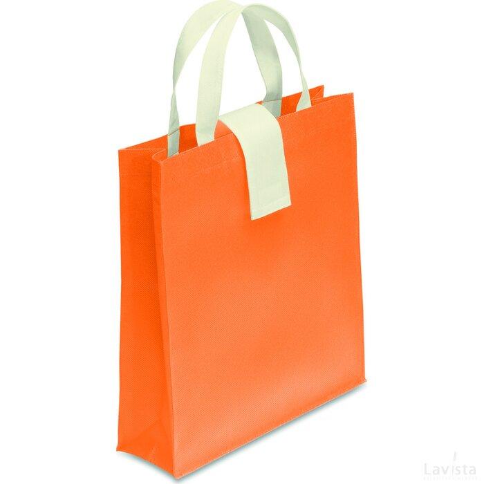 Non-woven boodschappentas Folby Oranje