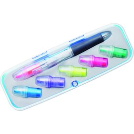 Markeerstift set met 6 kleuren Comuto multicolour