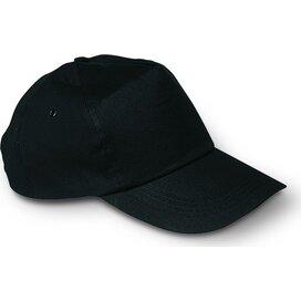 Baseball cap met sluiting Glop Cap Zwart