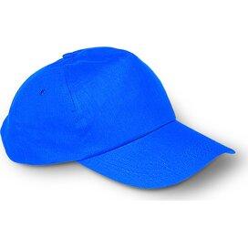 Baseball cap met sluiting Glop Cap (Kobalt) blauw