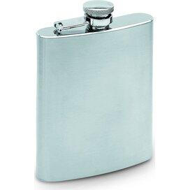 Heupfles 200 ml Slimmy flask mat zilver