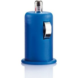 Mini auto USB lader Blauw