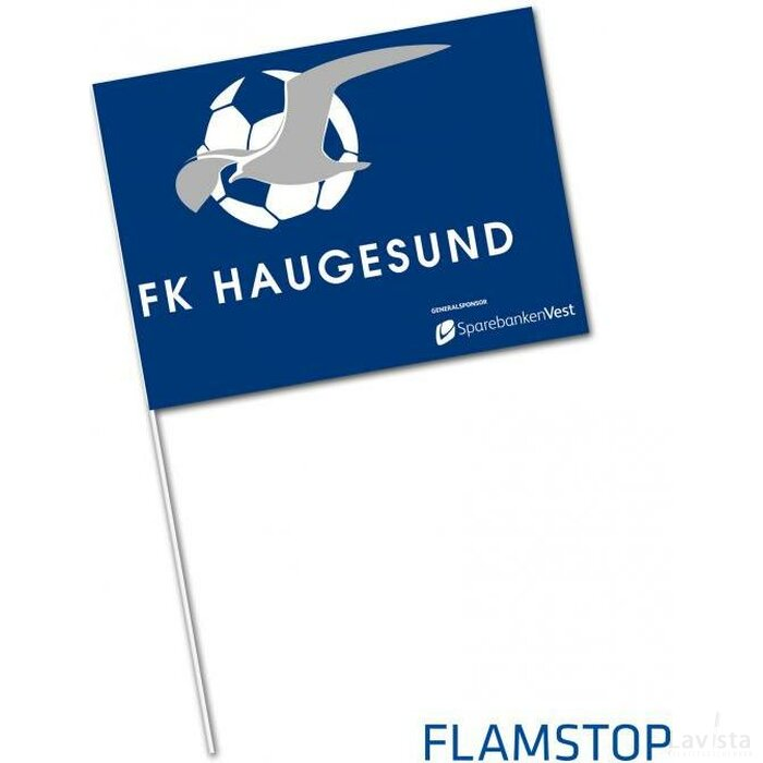 Supportersvlag FLAMSTOP vlamwerend