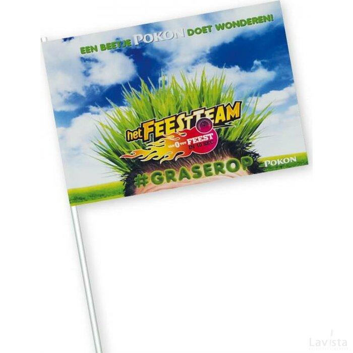 Vlaggetjes van papier 150 g/m2 11,5 x 24 cm