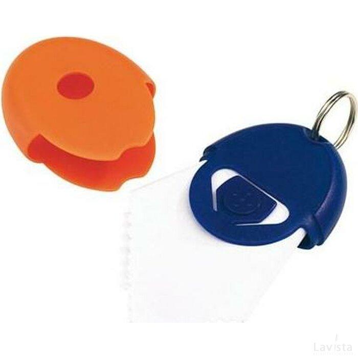 Sleutelhanger Neat blauw/oranje