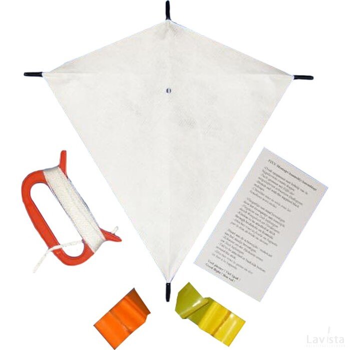 Promo mailing vlieger A4 24x24cm