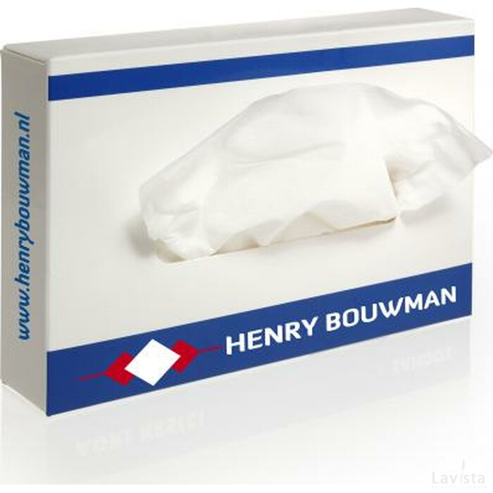 Rechthoekige tissue box