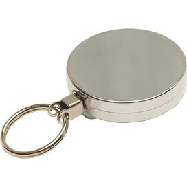 Jojo 50 met sleutelring & plastic draad zilver