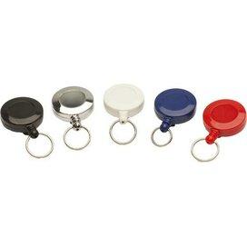 Jojo Mini met sleutelring & nylon draad zilver