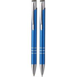 Balpen & vulpotlood Veno set blauw