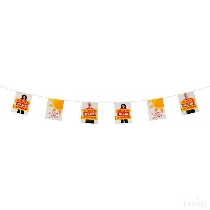 Vlaggenlijn papier 200 g/m2 kleine oplage