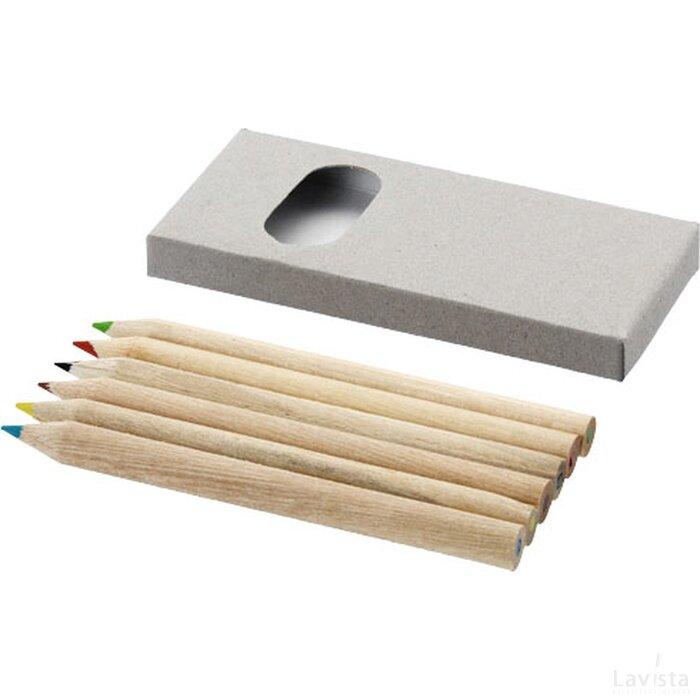 6 Delige potlodenset