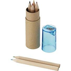 7 Delig potlodenset