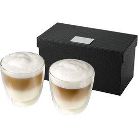 Boda 2 delige koffieset Transparant