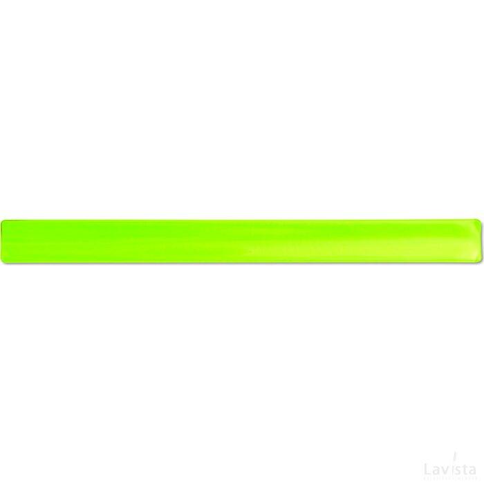 Reflecterende armband Enrollo Geel