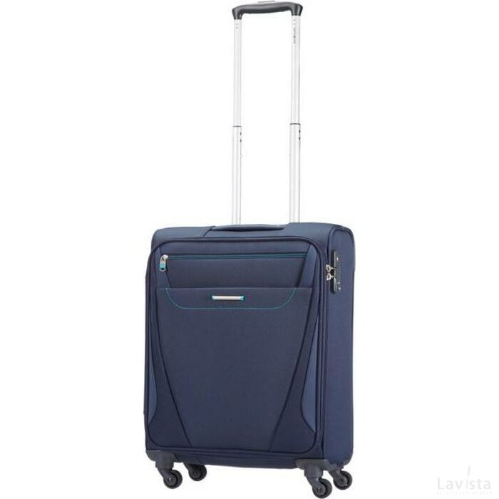 Samsonite All Direxions Spinner 55 Navy Blauw