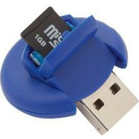 Card Reader Apek Blauw