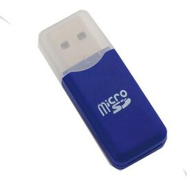 Card Reader Dro Blauw