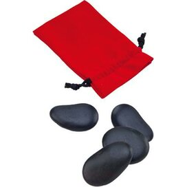 Massage Spin Stones Thermax Rood